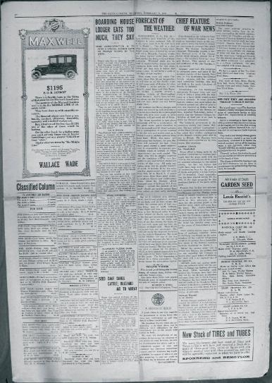 Elgin Courier, 2/21/18. pg. 5 (source: Elgin Depot Museum